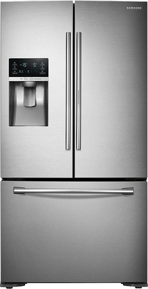 Samsung 23 Cu Ft Counter Depth 3 Door Food Showcase Refrigerator
