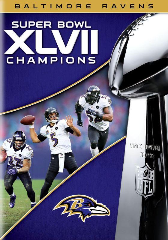NFL: Super Bowl XLVII Champions - Baltimore Ravens [DVD] [2013] 7689089