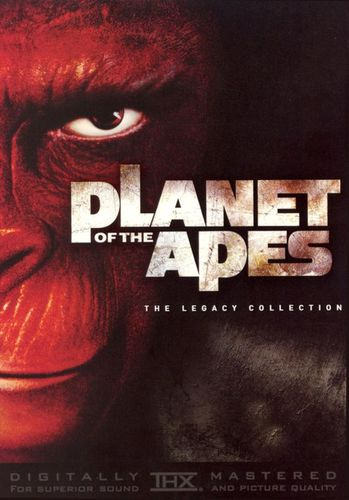 Planet of the Apes Legacy Boxset [6 Discs] [DVD] 7697977
