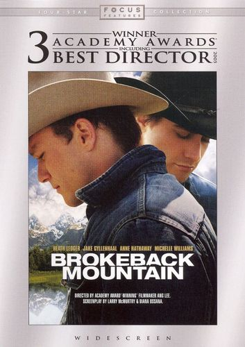Brokeback Mountain [WS] [DVD] [2005] 7741508