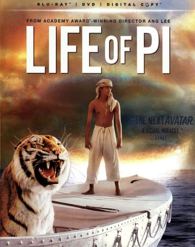 Life of Pi [2 Discs] [Includes Digital Copy] [UltraViolet] [Blu-ray/DVD] [2012] 7744308