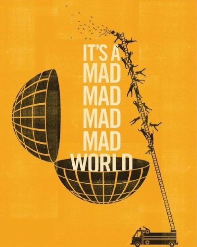 It's a Mad, Mad, Mad, Mad World [Blu-ray] [1963] 7762296