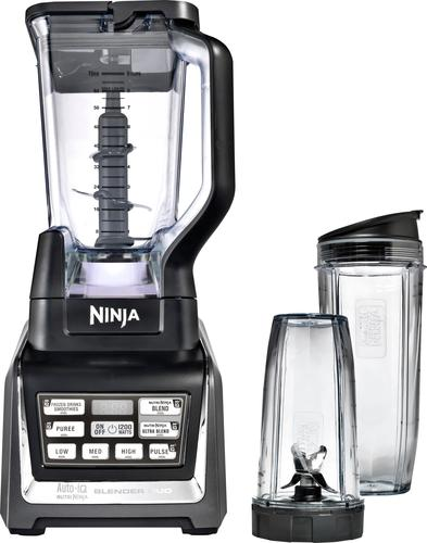 Ninja - Nutri Ninja 72-Oz. Blender Duo with Auto IQ - Black/Silver