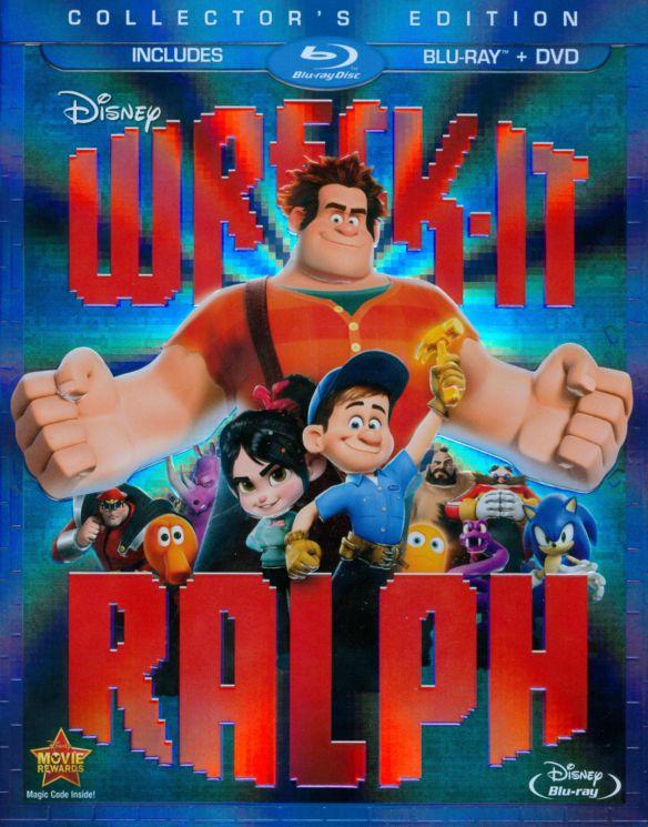 Wreck-It Ralph [2 Discs] [Blu-ray/DVD] [2012] 7781068