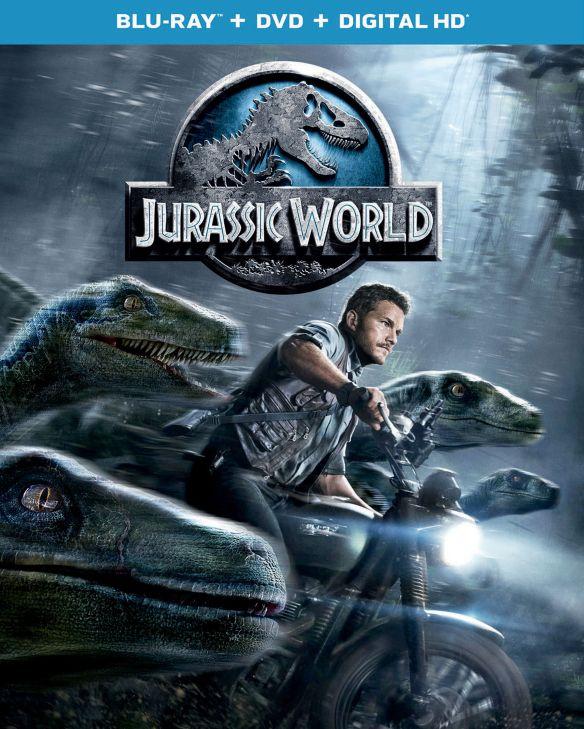 Jurassic World [Includes Digital Copy] [Blu-ray/DVD] [2015] 7811104