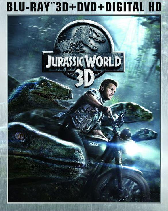 Jurassic World [3D] [Includes Digital Copy] [Blu-ray/DVD] [Blu-ray/Blu-ray 3D/DVD] [2015] 7812098