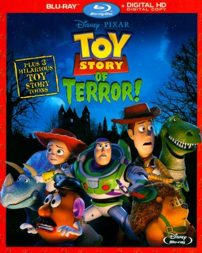 Toy Story of Terror! [Includes Digital Copy] [Blu-ray] [2014] 7813015