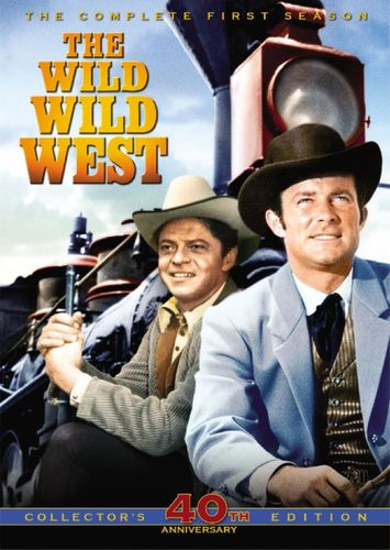 The Wild Wild West: The Complete First Season [Anniversary Edition] [3 Discs] [DVD] 7822528