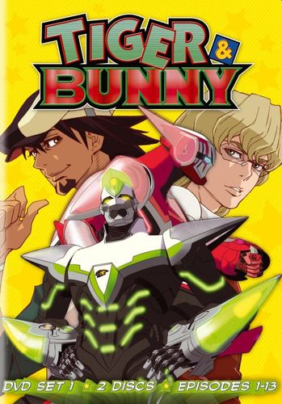 Tiger & Bunny: Set 1 [3 Discs] [DVD] 7835063