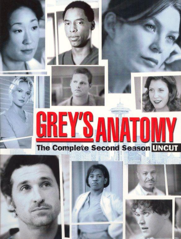 Grey's Anatomy: The Complete Second Season [6 Discs] [DVD] 7841179