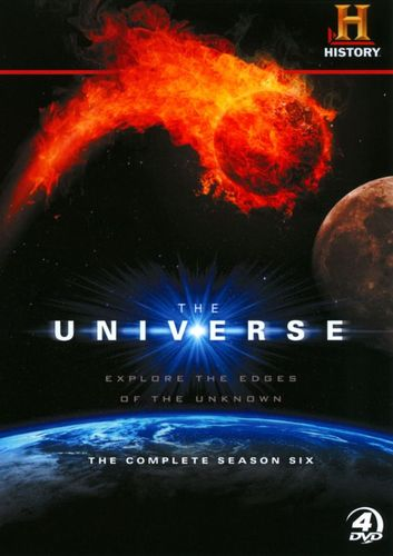 The Universe: The Complete Season Six [4 Discs] [DVD] 7842099