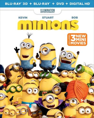 Minions [3D] [Includes Digital Copy] [Blu-ray/DVD] [2 Discs] [Blu-ray/Blu-ray 3D/DVD] [2015] 7877218