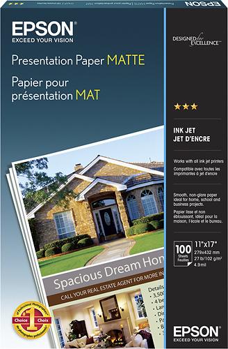 Epson Matte Presentation Paper White S041070