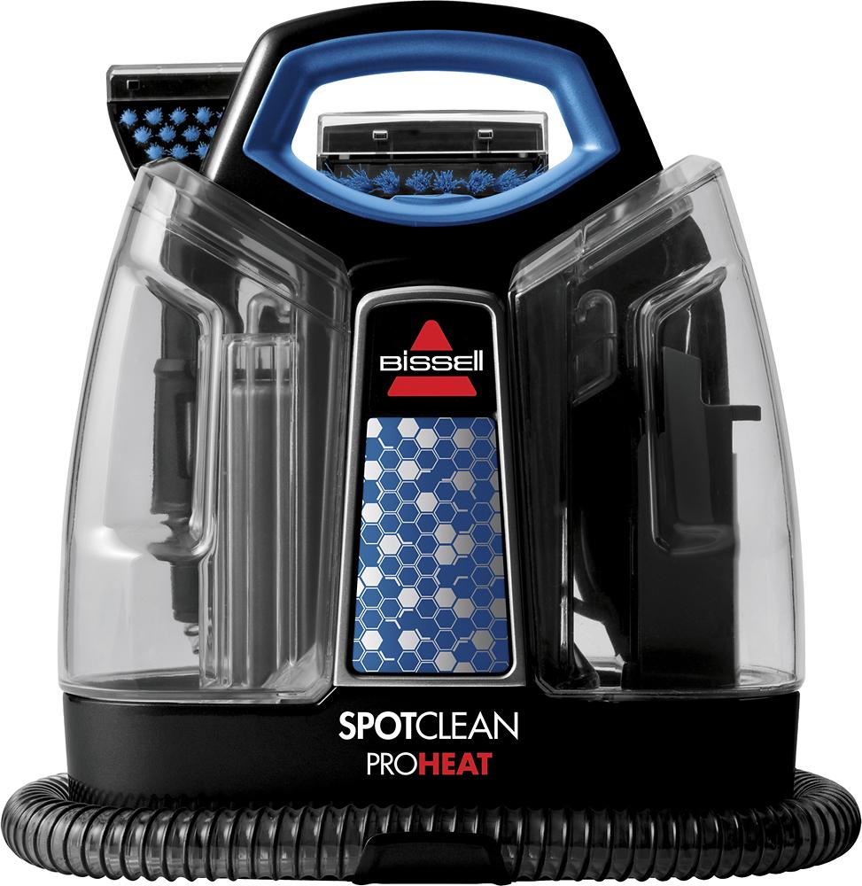 BISSELL SpotClean ProHeat Handheld Deep Cleaner Black/Motley Blue 5207U