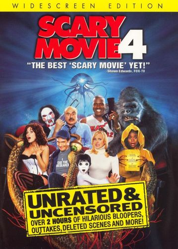 Scary Movie 4 [Unrated] [WS] [DVD] [2006] 7903021