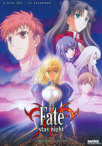 Fate/Stay Night: TV Complete Collection [4 Discs] [DVD] 7914078