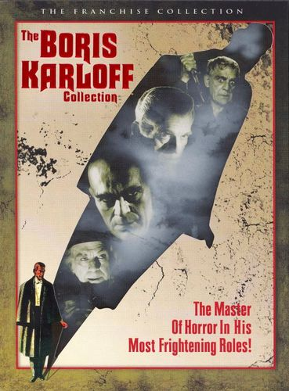 The Boris Karloff Collection [3 Discs] [DVD] 7915198