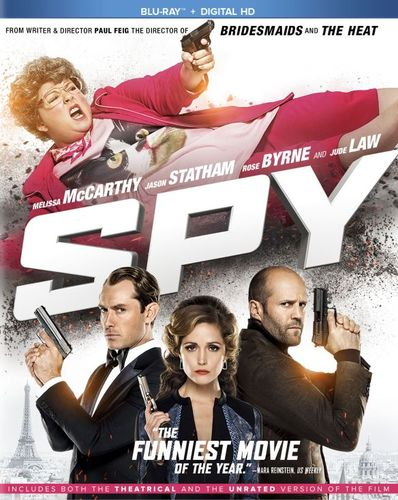 Spy [Includes Digital Copy] [Blu-ray] [2015] 7930027