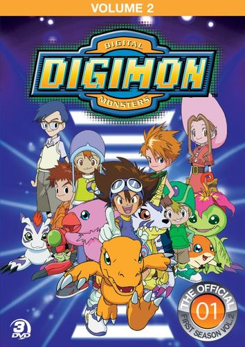 Digimon: Digital Monsters - The Offical First Season, Vol. 2 [3 Discs] [DVD] 7948223