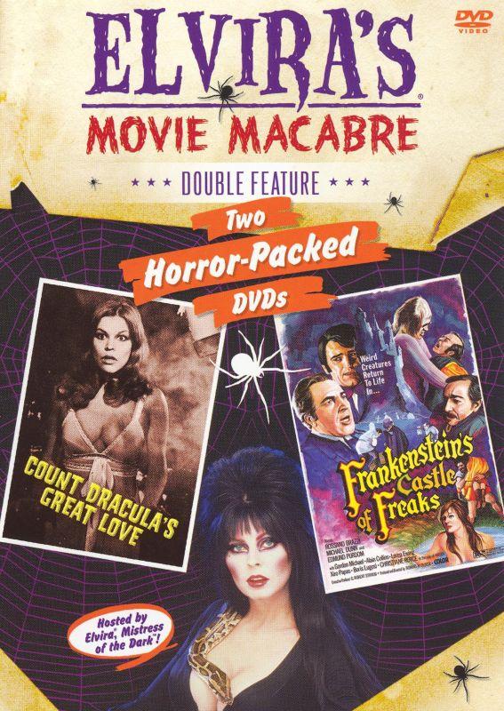 Elvira's Movie Macabre: Frankenstein's Castle of Freaks/Count Dracula's Great Love [2 Discs] [DVD] 7948616
