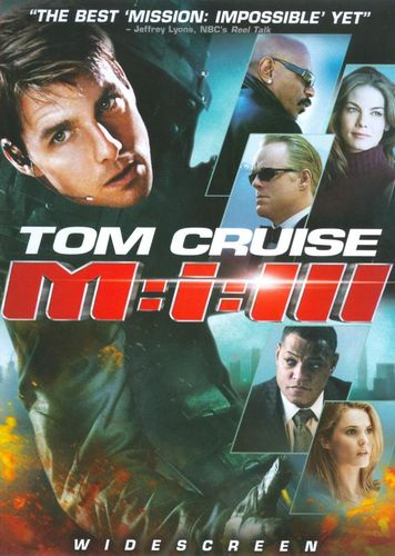 Mission: Impossible III [DVD] [2006] 7956358