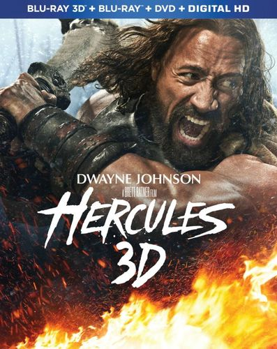 Hercules 3D [Unrated] [3 Discs] [Includes Digital Copy] [Ultraviolet] [3D] [Blu-ray/DVD] [Blu-ray/Blu-ray 3D/DVD] [2014] 7958005