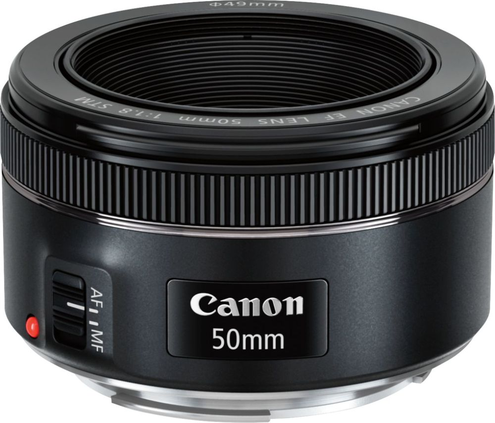 Canon Ef 50mm F1.8 Fixed Focal Length Lens