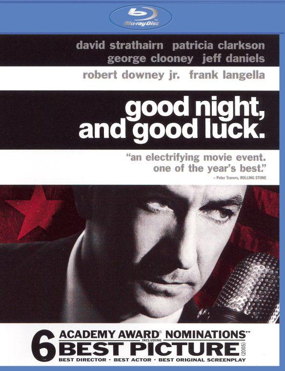 Good Night, and Good Luck [Blu-ray] [2005] 7963689