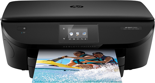 HP - ENVY 5660 Wireless All-In-One Instant Ink Ready Printer - Black