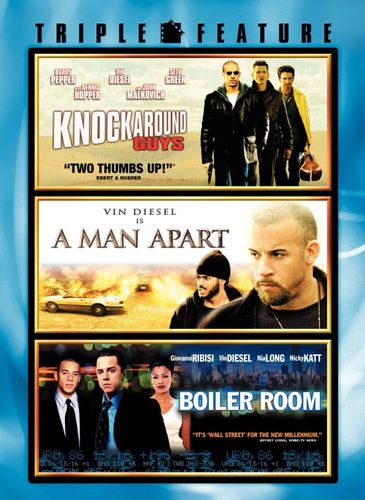 A Knockaround Guys/A Man Apart/Boiler Room [DVD] 8041558