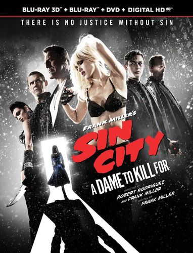 Frank Miller's Sin City: A Dame To Kill For [3 Discs] [UltraViolet] [3D] [Blu-ray/DVD] [Blu-ray/Blu-ray 3D/DVD] [2014] 8047052