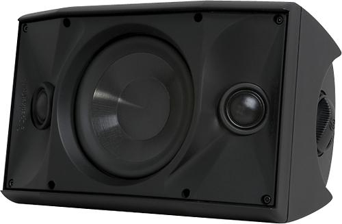"SpeakerCraft - OE DT6 One 6-1/2"" 2-Way Outdoor Speaker (Each) - Black/White"