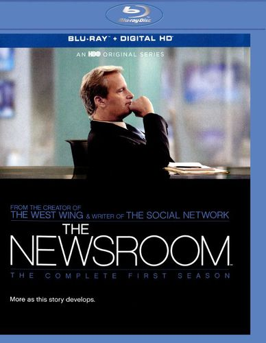 The Newsroom: The Complete First Season [Blu-ray] [4 Discs] 8063324