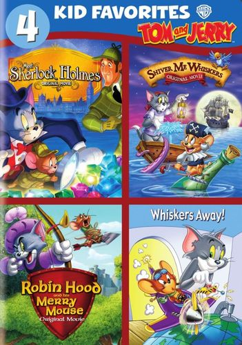 4 Kid Favorites: Tom and Jerry [DVD] 8063342