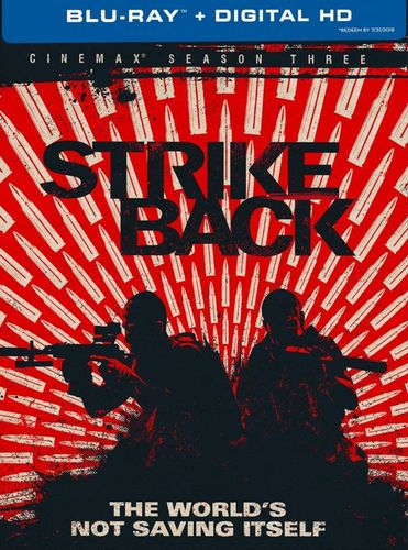Strike Back: Cinemax Season 3 [3 Discs] [Blu-ray] 8063351