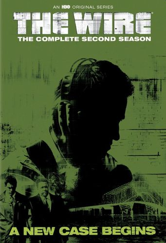 The Wire: The Complete Second Season [5 Discs] [DVD] 8064291