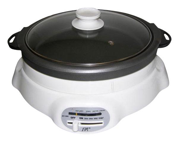SPT - Shabu-Shabu and BBQ Cooker - White