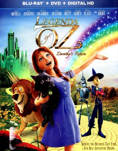 Legends of Oz: Dorothy's Return [2 Discs] [Blu-ray/DVD] [2013] 8101036