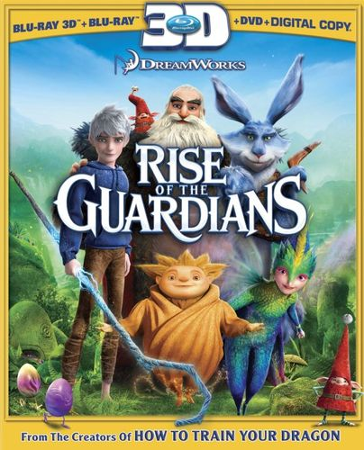 Rise of the Guardians [3 Discs] [Includes Digital Copy] [UltraViolet] [3D] [Blu-ray/DVD] [Blu-ray/Blu-ray 3D/DVD] [2012] 8103043