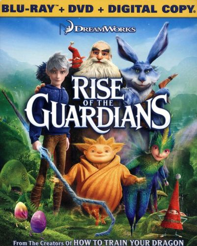 Rise of the Guardians [2 Discs] [Includes Digital Copy] [UltraViolet] [With Toy Eggs] [Blu-ray/DVD] [2012] 8103089