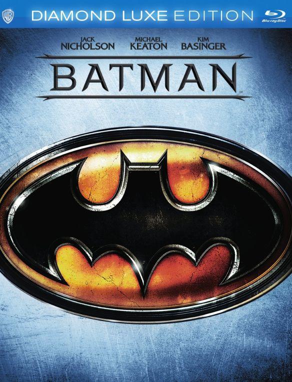 Batman [Diamond Luxe Edition] [25th Anniversary] [Blu-ray] [1989] 8116055