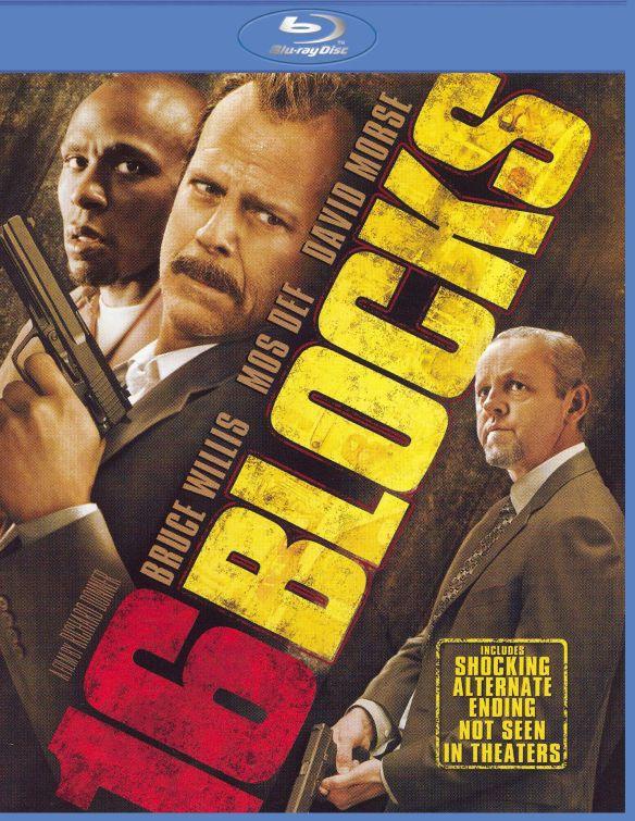 16 Blocks [Blu-ray] [2006] 8120188