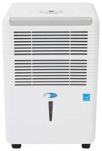 Whynter - 30-Pint Portable Dehumidifier - White 2500 sq. ft. capacity; 35 - 85% relative humidity; 3 amps; auto defrosting technology; 2-in-1 silver-coated washable prefilter combo; 3 operational modes; 2 fan speeds