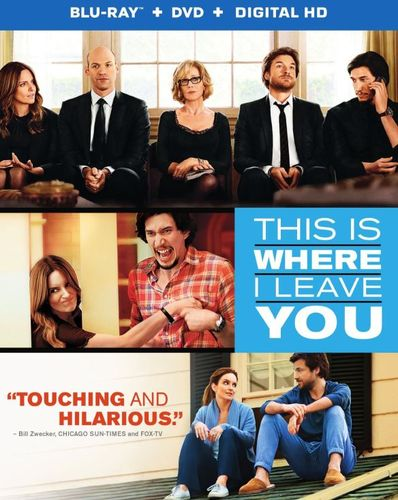 This Is Where I Leave You [2 Discs] [Includes Digital Copy] [UltraViolet] [Blu-ray/DVD] [2014] 8154167