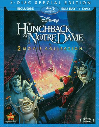 The Hunchback of Notre Dame [Special Edition] [3 Discs] [Blu-ray/DVD] [1996] 8160065
