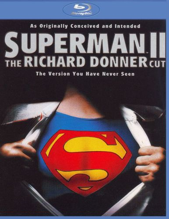Superman II: The Richard Donner Cut [Blu-ray] [2006] 8161776