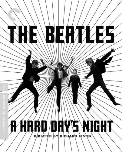 A Hard Day's Night [Criterion Collection] [Blu-ray/DVD] [3 Discs] [1964] 8191343