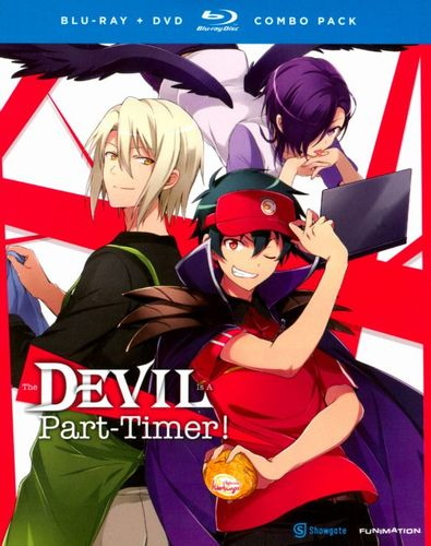The Devil Is a Part-Timer! [4 Discs] [Blu-ray/DVD] 8191352