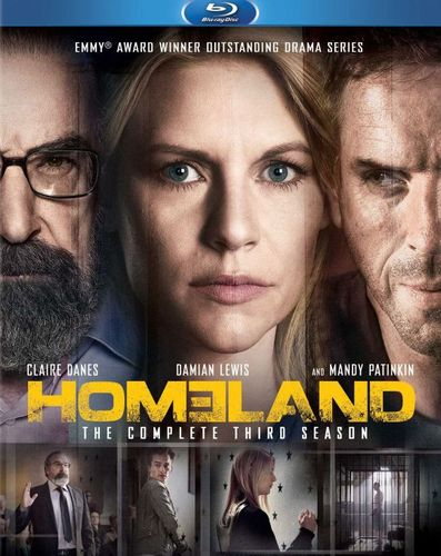 Homeland: The Complete Third Season [3 Discs] [Blu-ray] 8192141