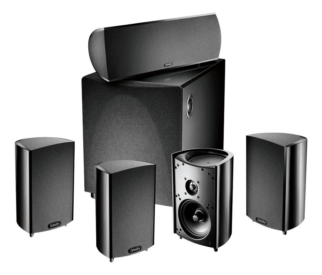 Definitive Technology - ProCinema 600 5.1-Channel Home Theater Speaker System - Black